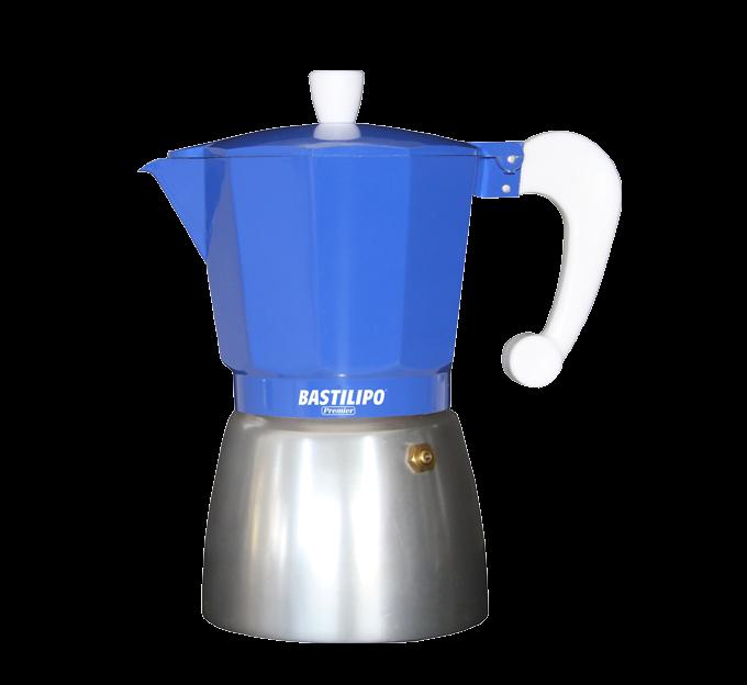 Cafetera - Colori Azul para 3,6,9 o 12 tazas