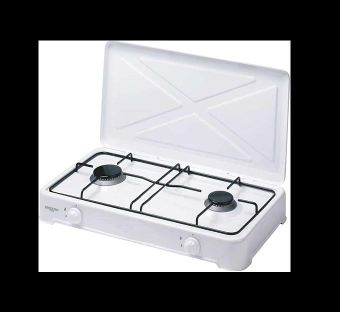 CG-200 - Cocina de Gas - 2 fuegos - Con quemador desmontable