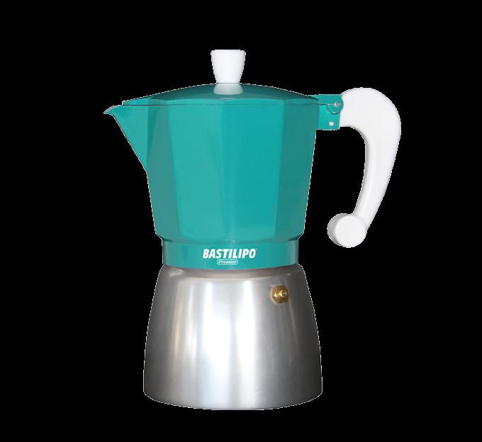 Cafetera - Colori esmeralda para 3,6,9 o 12 tazas